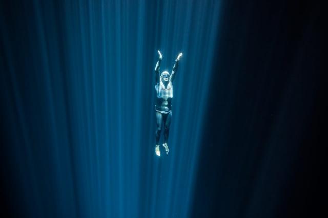 Carlos Coste freediving cenote